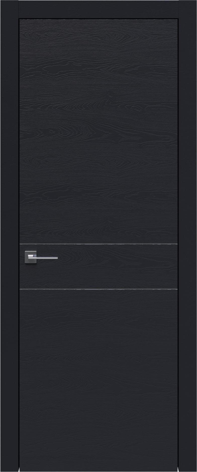 Tivoli И-2 цвет - Черная эмаль по шпону (RAL 9004) Без стекла (ДГ)