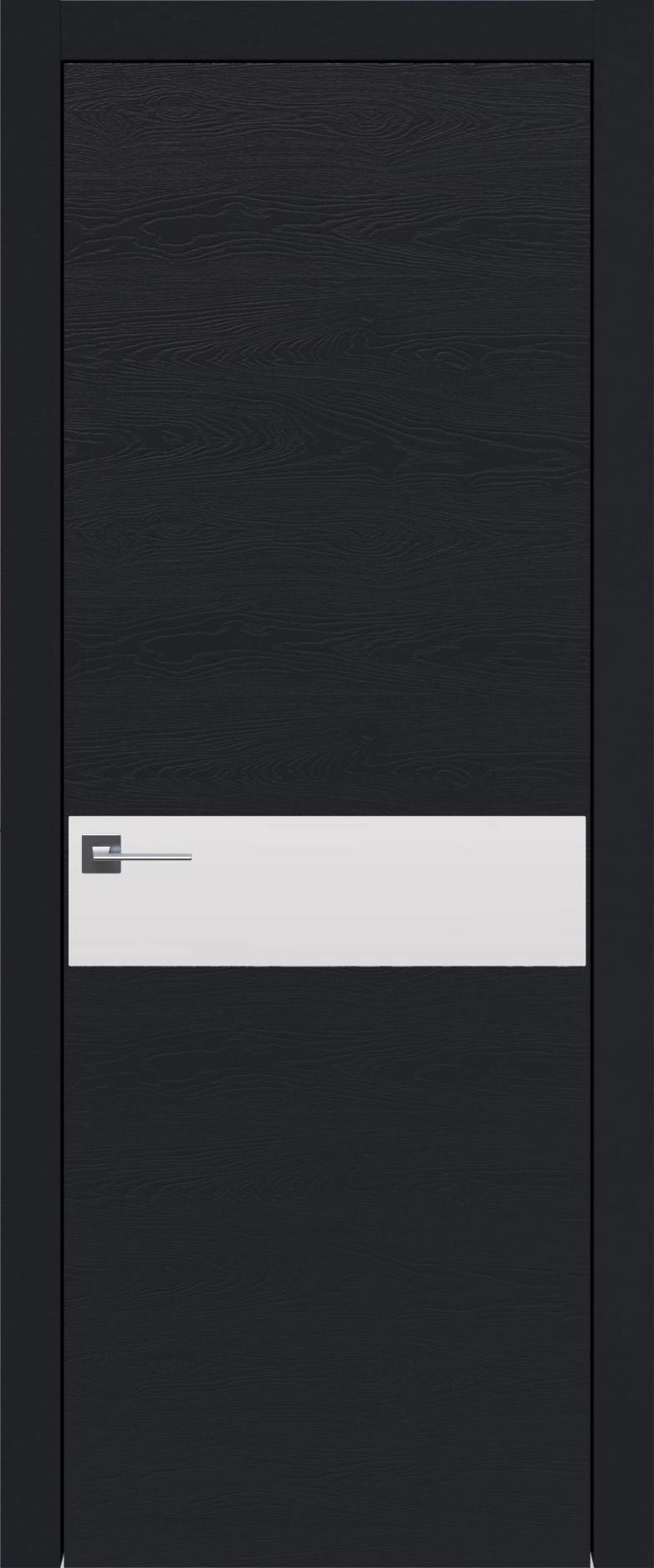 Tivoli И-4 цвет - Черная эмаль по шпону (RAL 9004) Без стекла (ДГ)