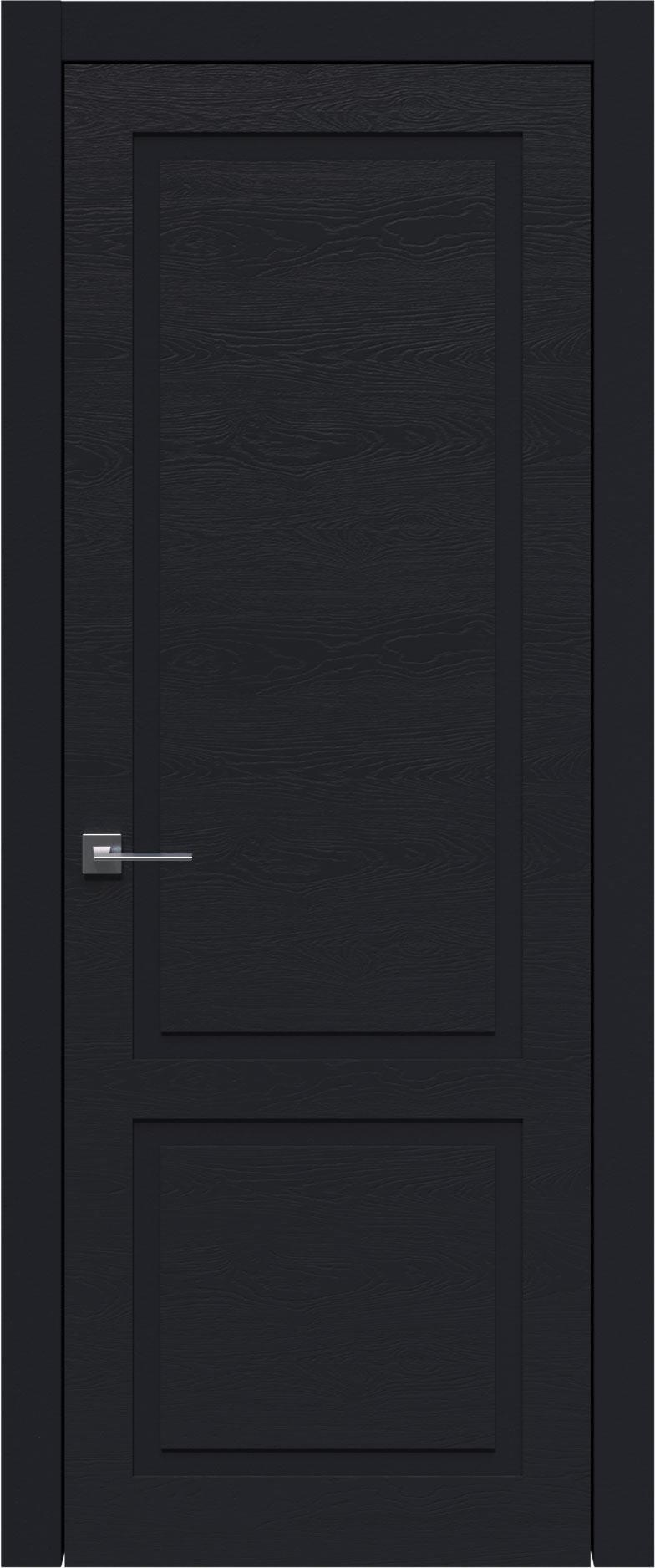Tivoli И-5 цвет - Черная эмаль по шпону (RAL 9004) Без стекла (ДГ)