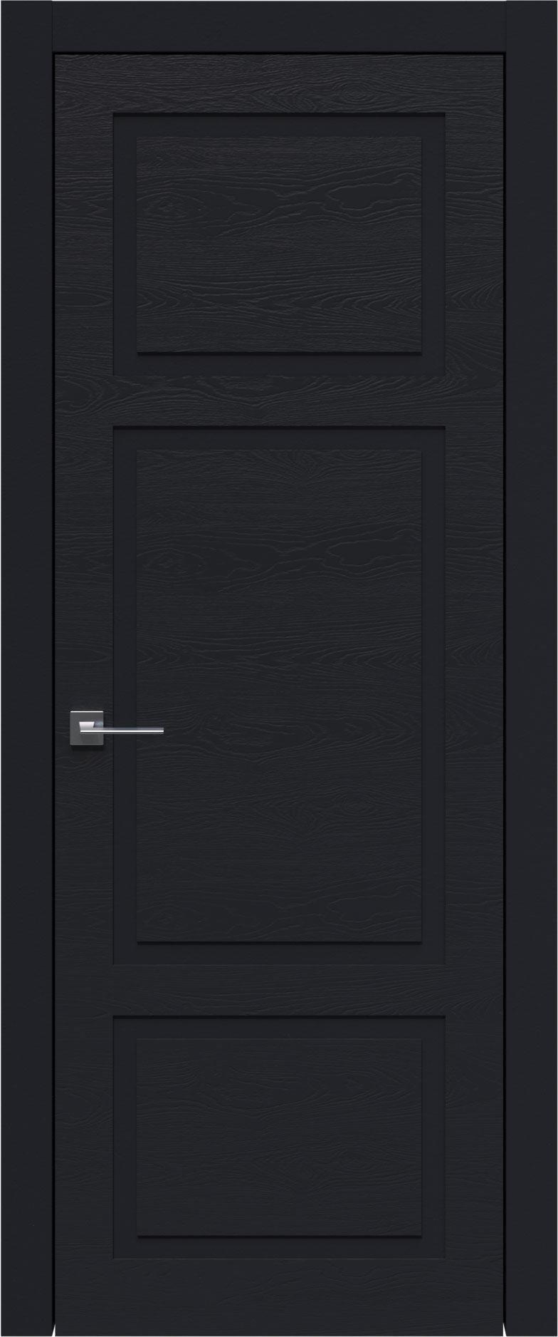 Tivoli К-5 цвет - Черная эмаль по шпону (RAL 9004) Без стекла (ДГ)