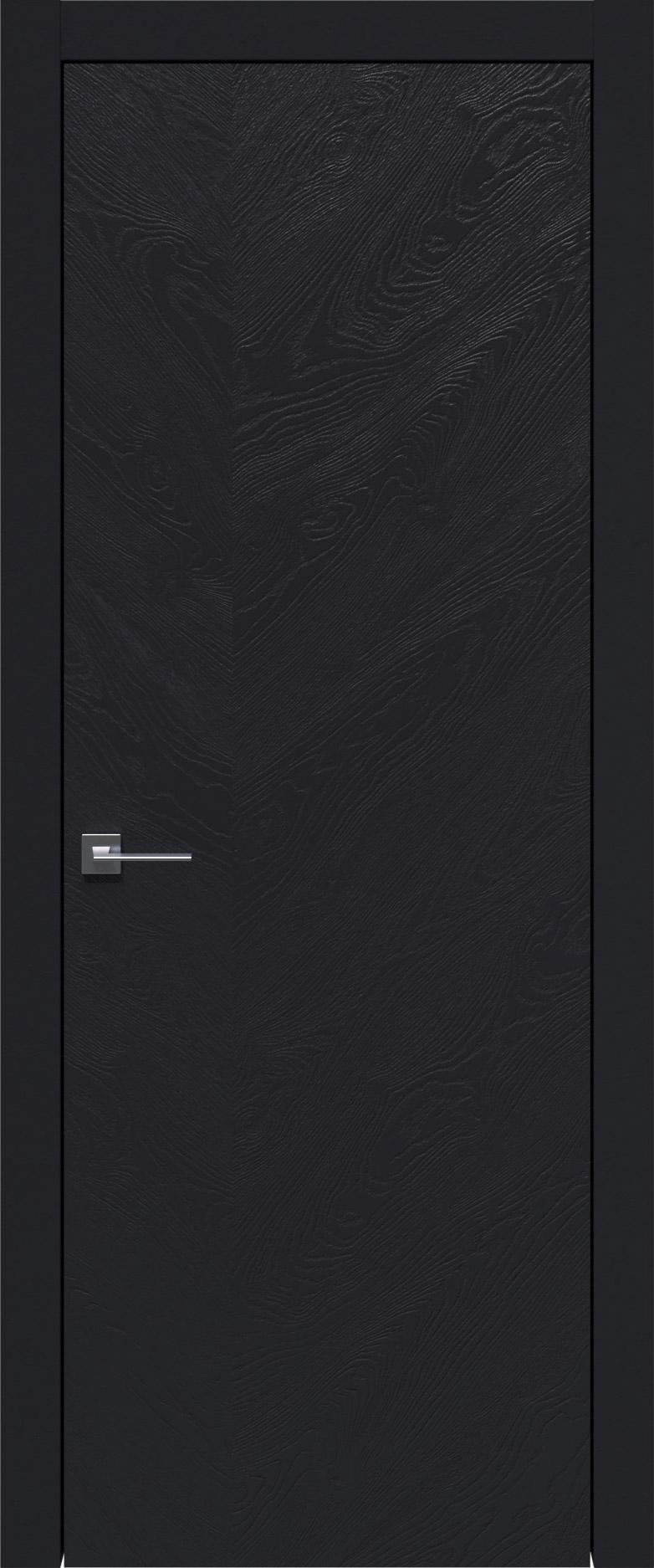 Tivoli Л-1 цвет - Черная эмаль по шпону (RAL 9004) Без стекла (ДГ)