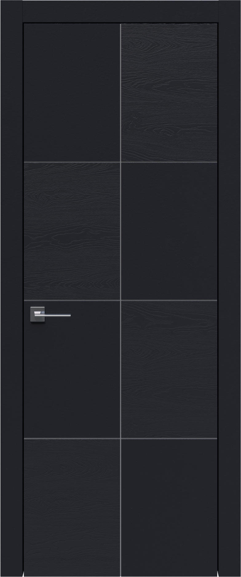 Tivoli Л-2 цвет - Черная эмаль-эмаль по шпону (RAL 9004) Без стекла (ДГ)