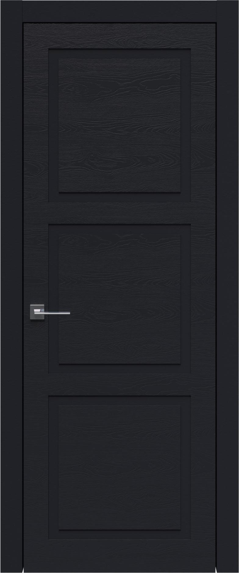 Tivoli Л-5 цвет - Черная эмаль по шпону (RAL 9004) Без стекла (ДГ)