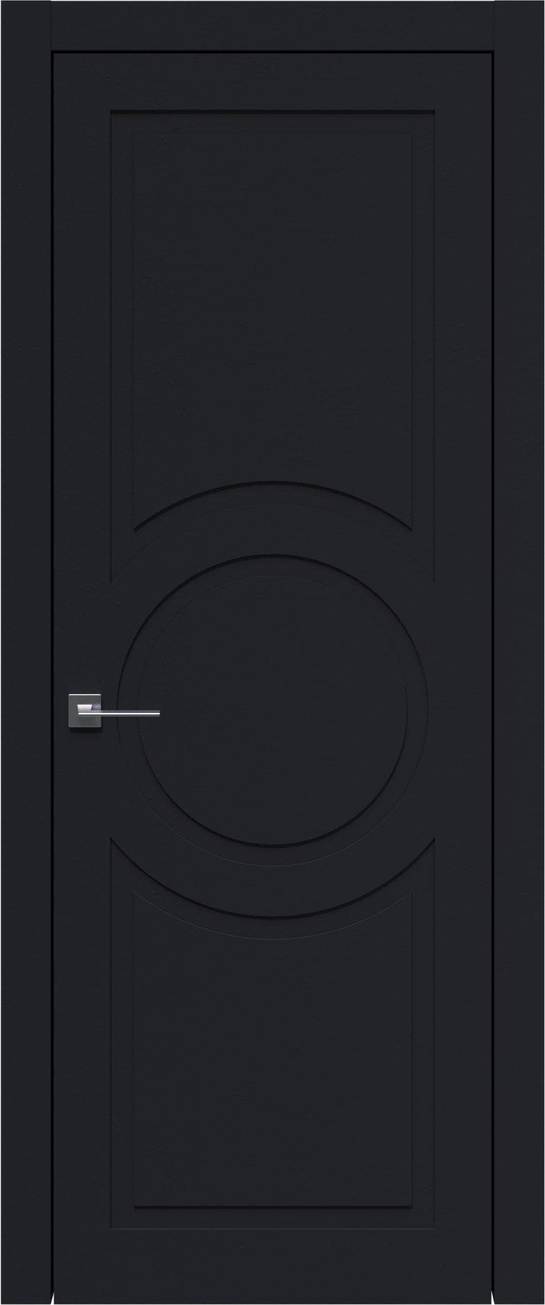 Tivoli М-5 цвет - Черная эмаль (RAL 9004) Без стекла (ДГ)