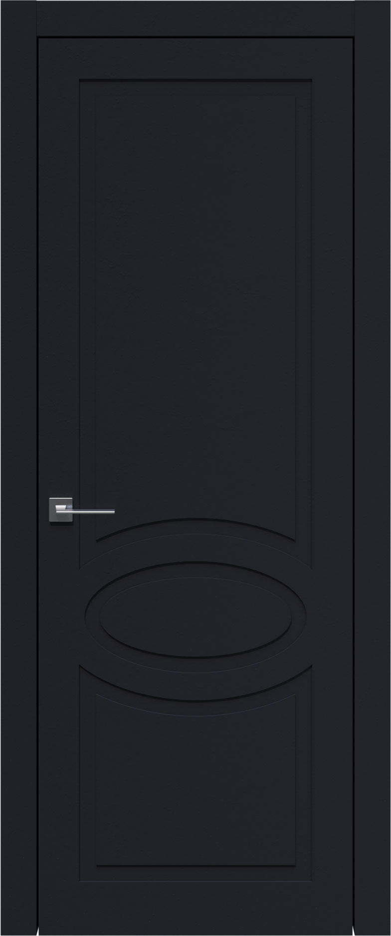 Tivoli Н-5 цвет - Черная эмаль (RAL 9004) Без стекла (ДГ)