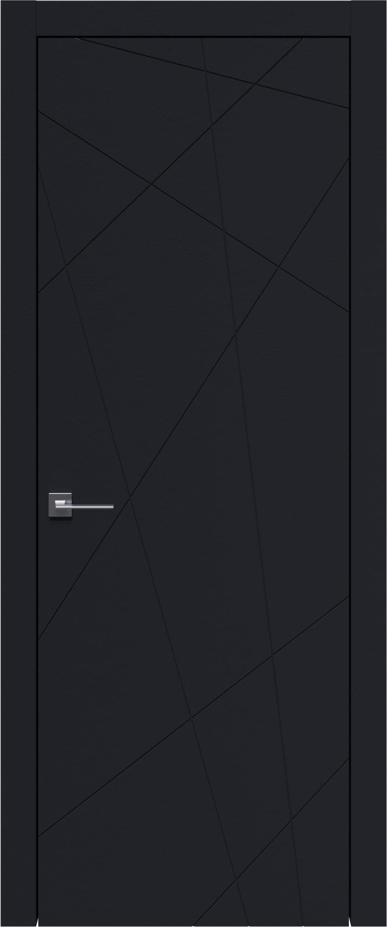 Tivoli В-5 цвет - Черная эмаль (RAL 9004) Без стекла (ДГ)