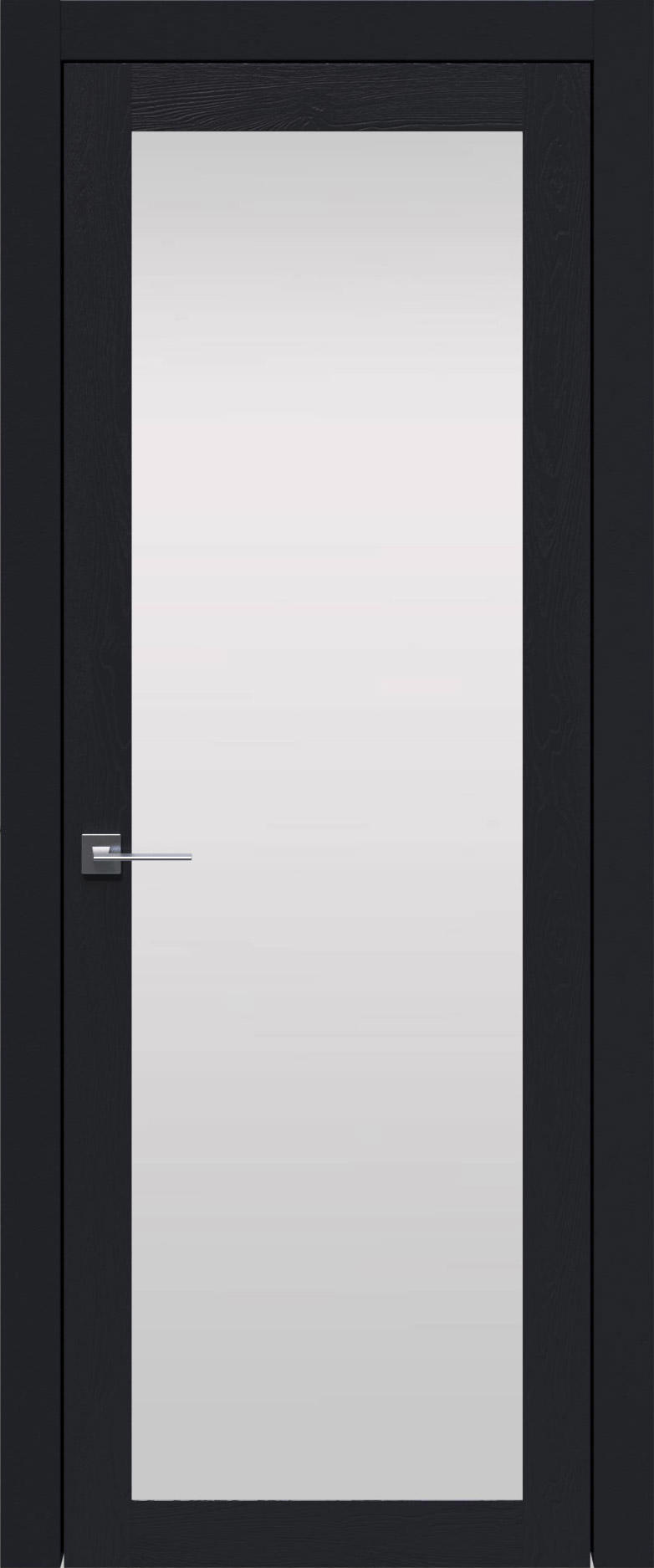 Tivoli З-1 цвет - Черная эмаль по шпону (RAL 9004) Со стеклом (ДО)