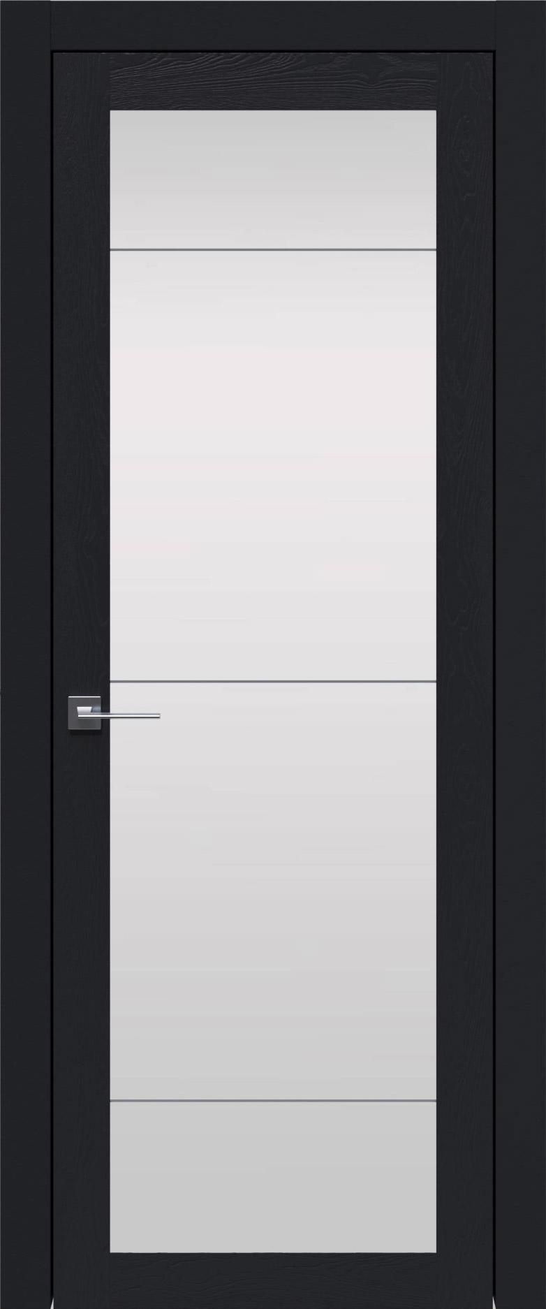 Tivoli З-3 цвет - Черная эмаль по шпону (RAL 9004) Со стеклом (ДО)