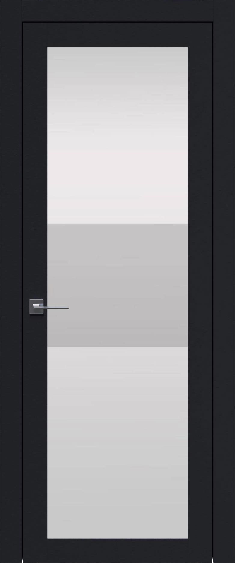 Tivoli З-4 цвет - Черная эмаль (RAL 9004) Со стеклом (ДО)
