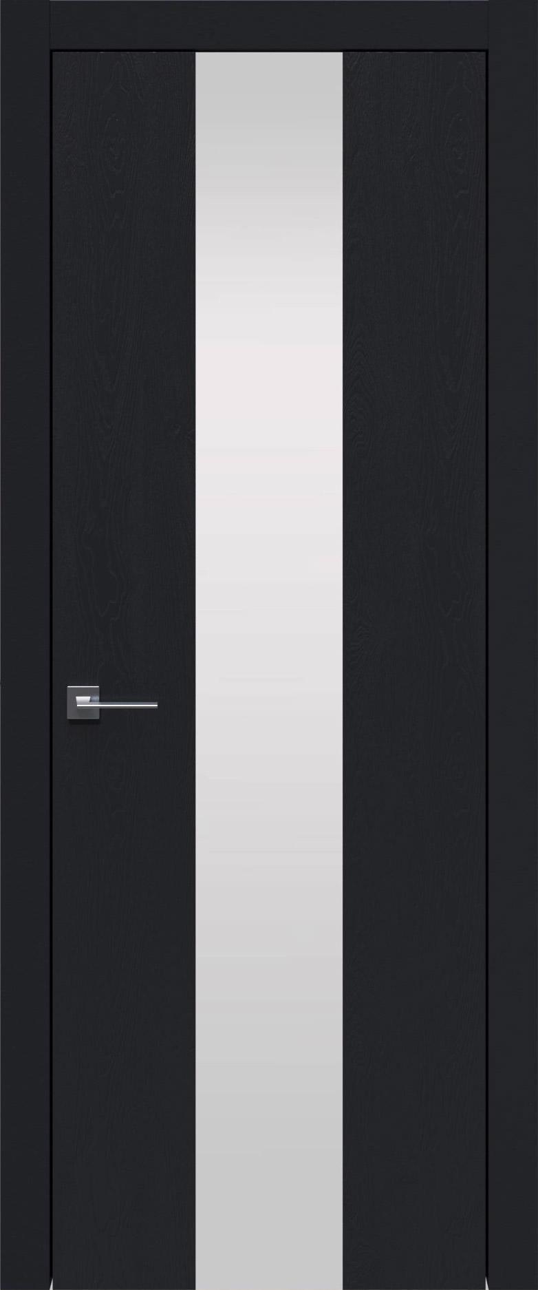Tivoli Ж-1 цвет - Черная эмаль по шпону (RAL 9004) Со стеклом (ДО)