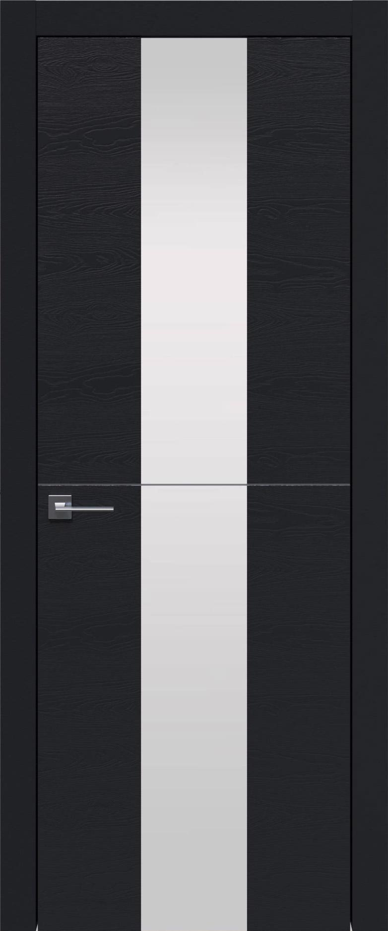 Tivoli Ж-3 цвет - Черная эмаль по шпону (RAL 9004) Со стеклом (ДО)