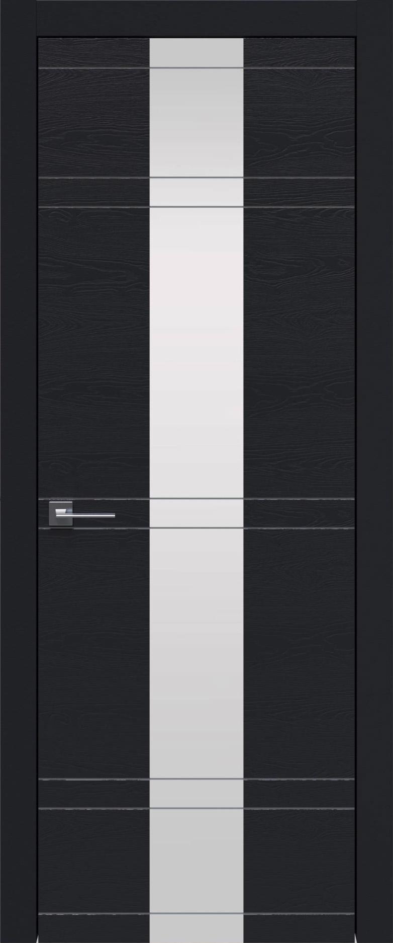 Tivoli Ж-4 цвет - Черная эмаль по шпону (RAL 9004) Со стеклом (ДО)