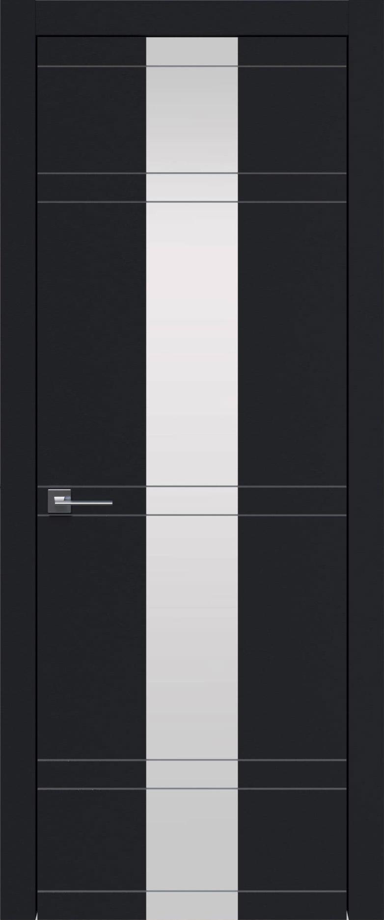 Tivoli Ж-4 цвет - Черная эмаль (RAL 9004) Со стеклом (ДО)
