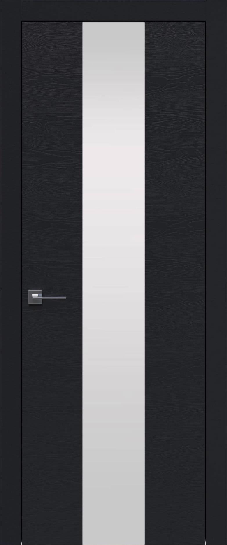 Tivoli Ж-5 цвет - Черная эмаль по шпону (RAL 9004) Со стеклом (ДО)