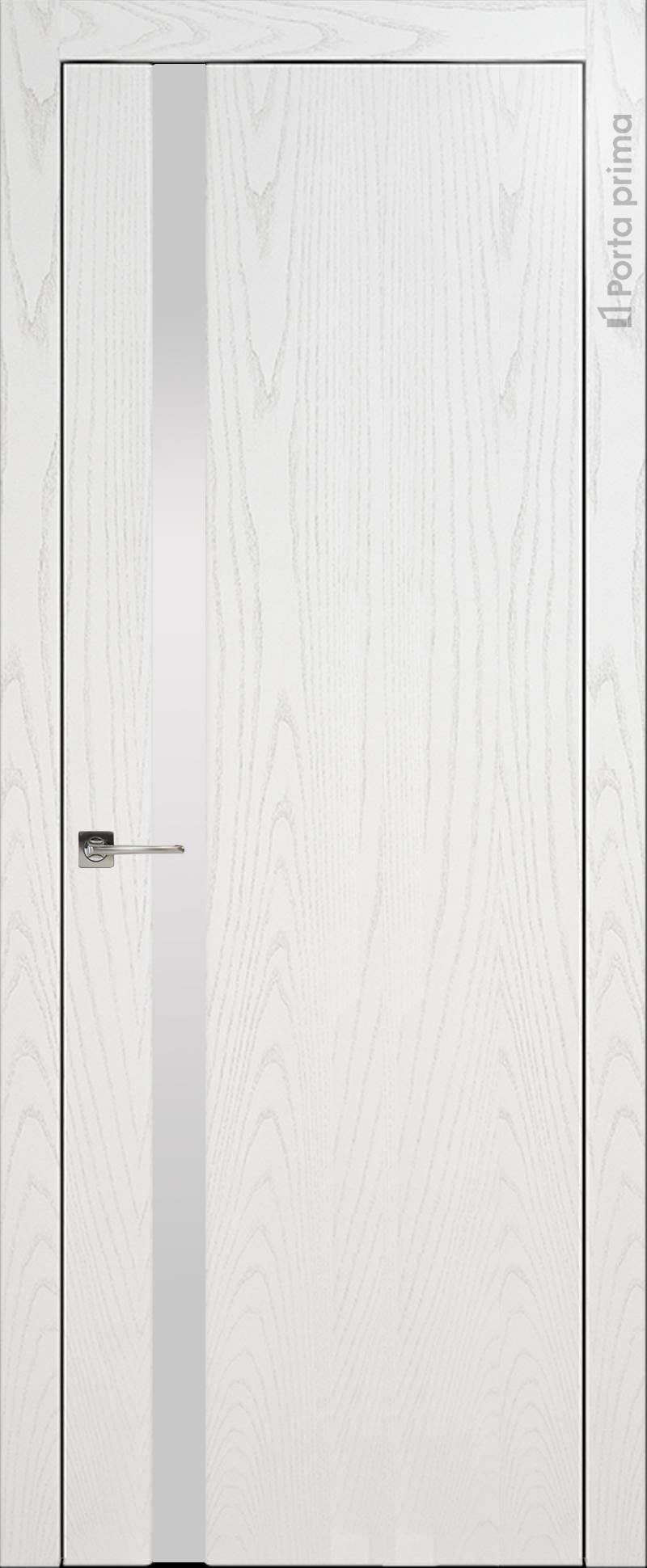 Torino цвет - Белый ясень (шпон) Без стекла (ДГ)