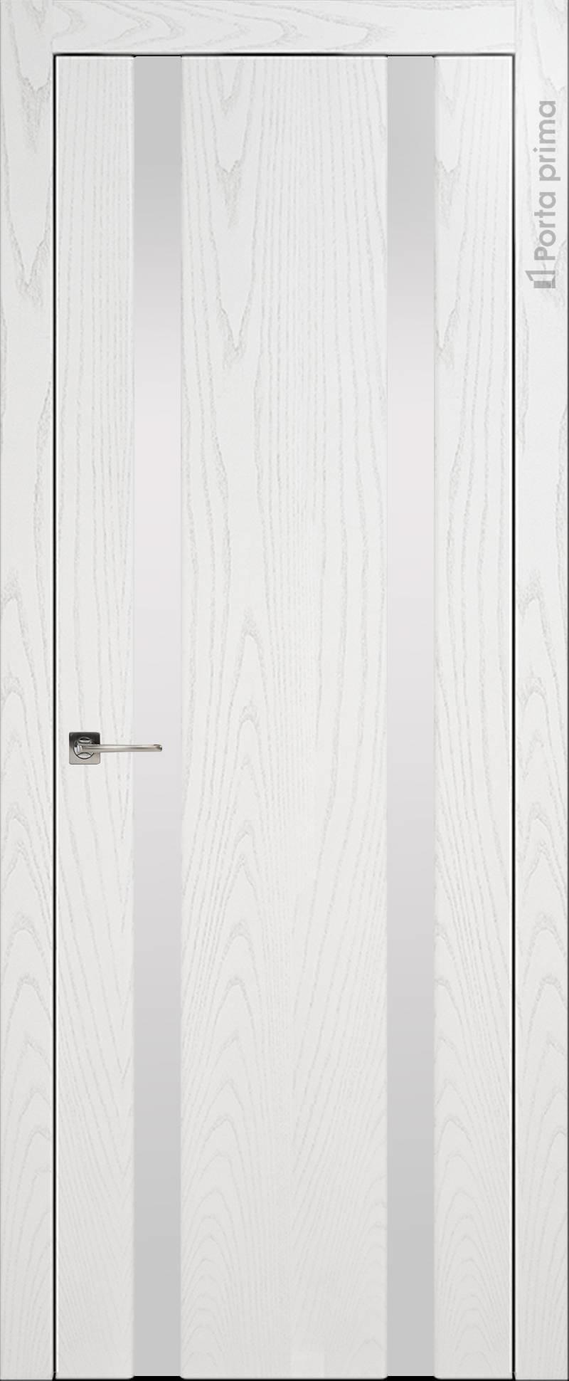 Torino цвет - Белый ясень (шпон) Без стекла (ДГ-2)