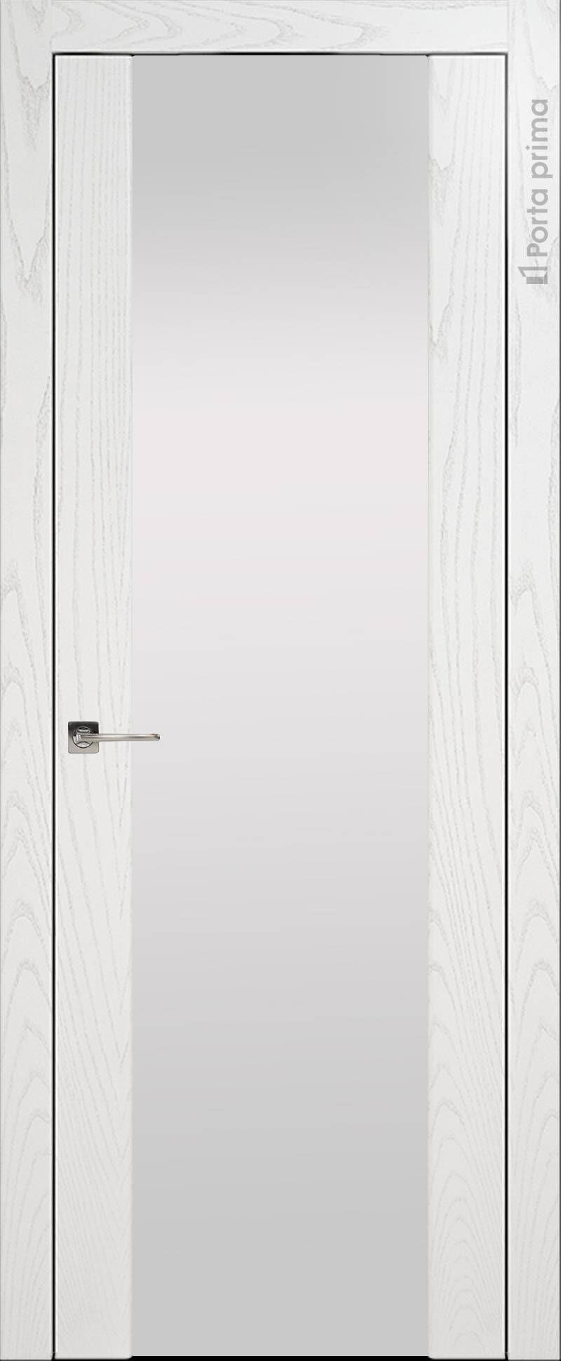 Torino цвет - Белый ясень (шпон) Со стеклом (ДО)