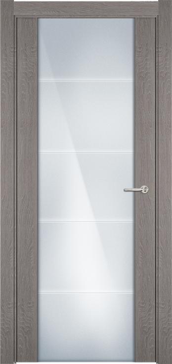 Versia       Цвет Дуб серый Стекло Триплекс 8 мм с горизонтальной гравировкой