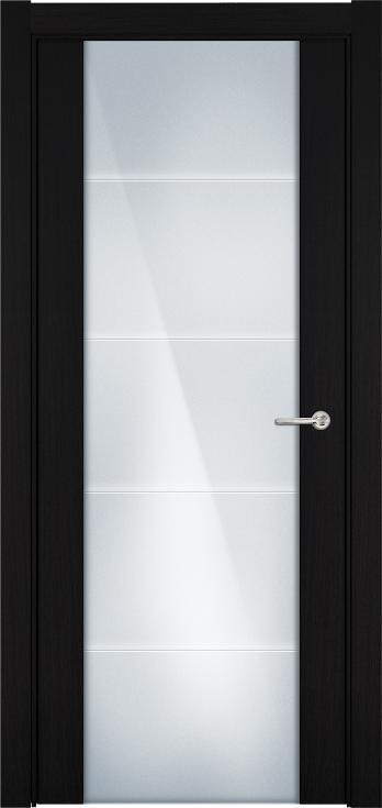 Versia       Цвет Венге пепельный Стекло Триплекс 8 мм с горизонтальной гравировкой