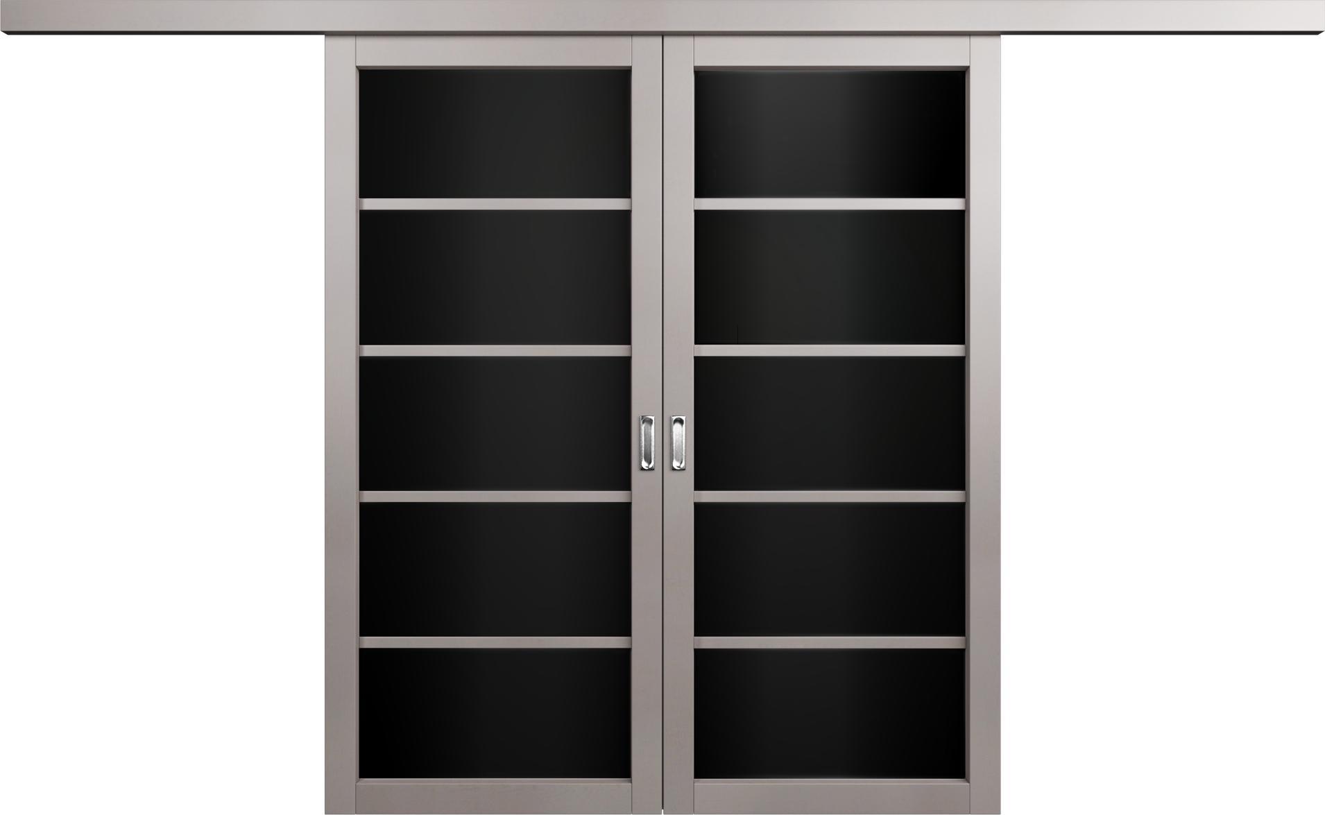 Перегородки       Цвет Grey Стекло Триплекс черный