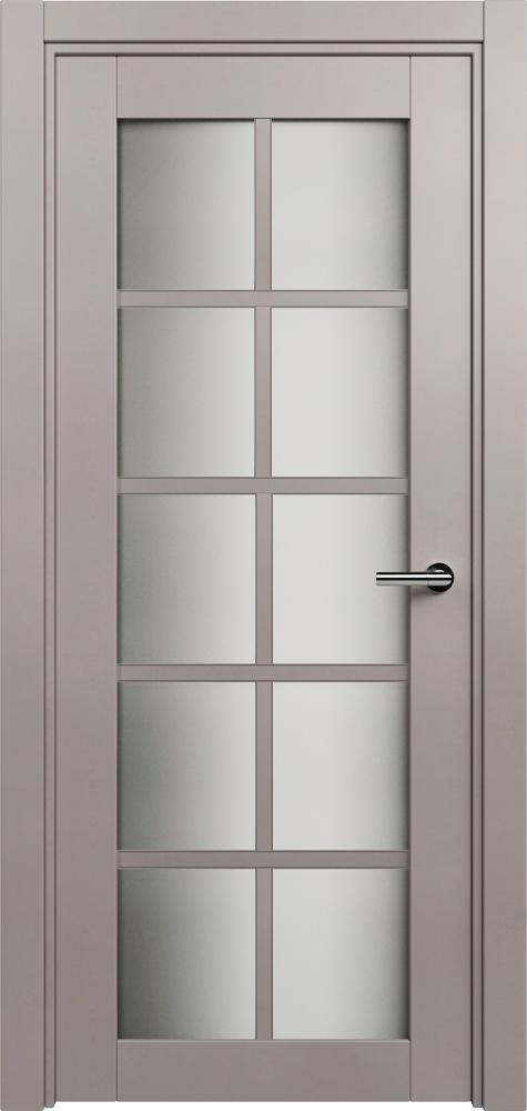 Optima       Цвет Grey Стекло сатинато белое