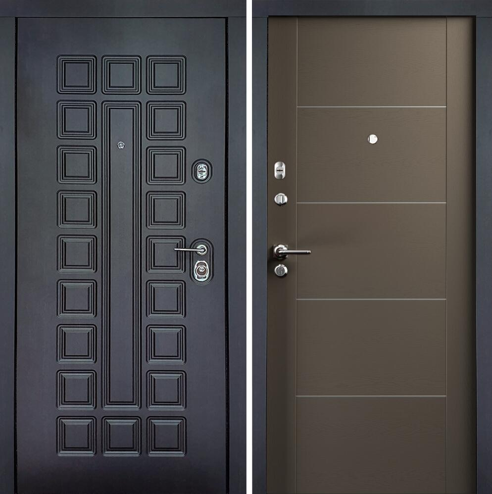 Коллекция Входные двери Цвет Грей