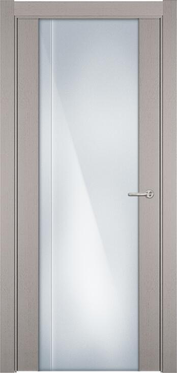 Коллекция Futura 331 Дуб белый + Триплекс 8 мм с вертикальной гравировкой