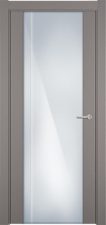 Коллекция Futura 331 Грей + Триплекс 8 мм с вертикальной гравировкой