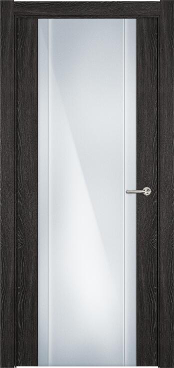 Коллекция Futura 332 Дуб патина + Триплекс 8 мм с вертикальной гравировкой