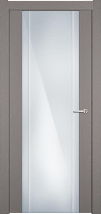 Коллекция Futura 332 Грей + Триплекс 8 мм с вертикальной гравировкой