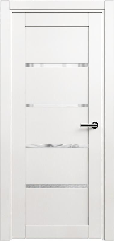 Коллекция Optima 121 Белый   лёд + триплекс прозрачный
