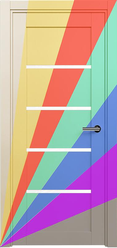 Коллекция Optima 121 Эмаль. Стандарт - RAL 7004,7015,1015,1019,9003.  Нестандарт - любой цвет по RAL. + Триплекс белый