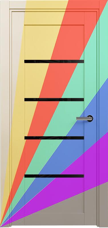 Коллекция Optima 121 Эмаль. Стандарт - RAL 7004,7015,1015,1019,9003.  Нестандарт - любой цвет по RAL. + Триплекс черный