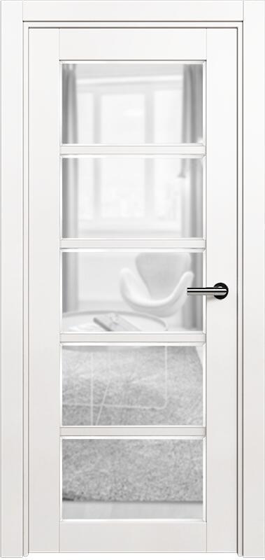 Коллекция Optima 122 Белый   лёд + сатинато прозрачное фацет
