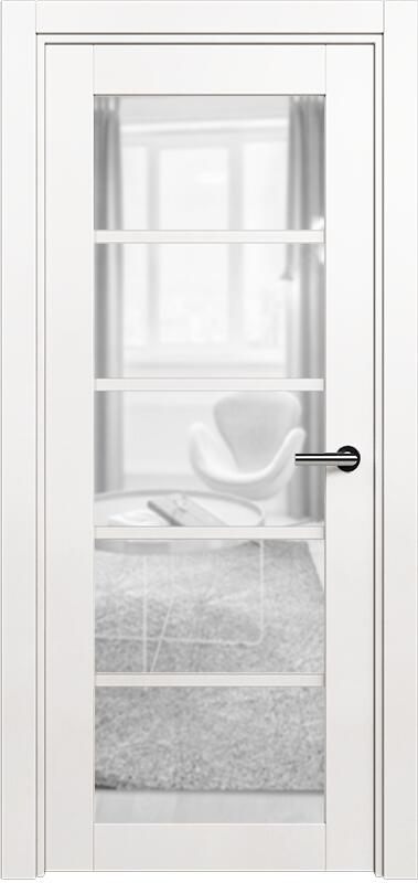 Коллекция Optima 122 Белый   лёд + триплекс прозрачный