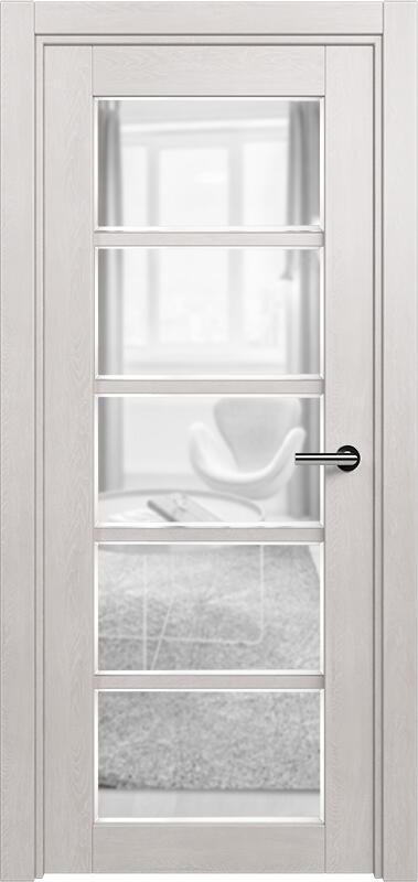 Коллекция Optima 122 Дуб белый + сатинато прозрачное фацет