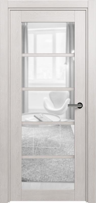 Коллекция Optima 122 Дуб белый + сатинато прозрачное