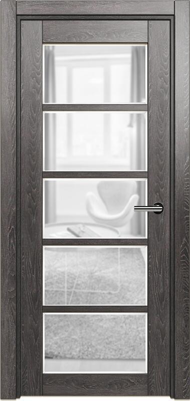 Коллекция Optima 122 Дуб патина + сатинато прозрачное фацет