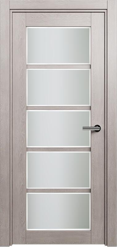 Коллекция Optima 122 Дуб   серый + Сатинато белое фацет