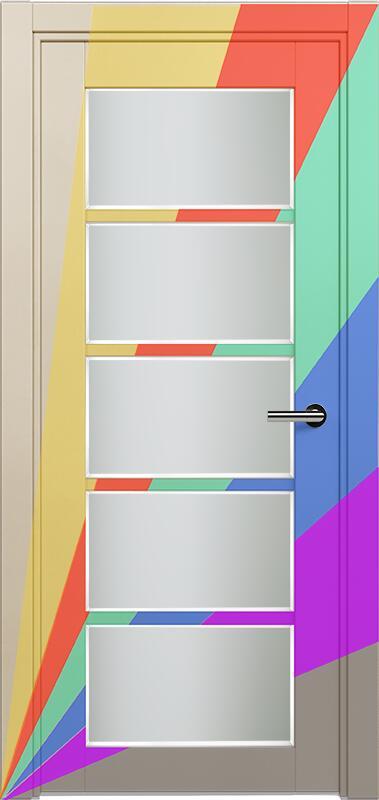Коллекция Optima 122 Эмаль. Стандарт - RAL 7004,7015,1015,1019,9003.  Нестандарт - любой цвет по RAL. + Сатинато белое фацет