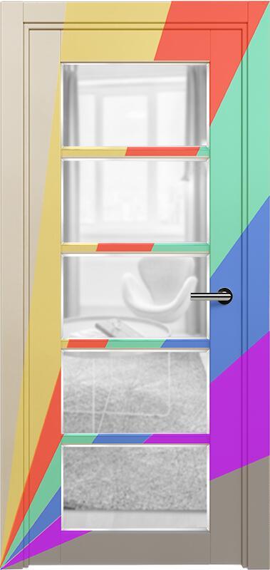 Коллекция Optima 122 Эмаль. Стандарт - RAL 7004,7015,1015,1019,9003.  Нестандарт - любой цвет по RAL. + сатинато прозрачное фацет