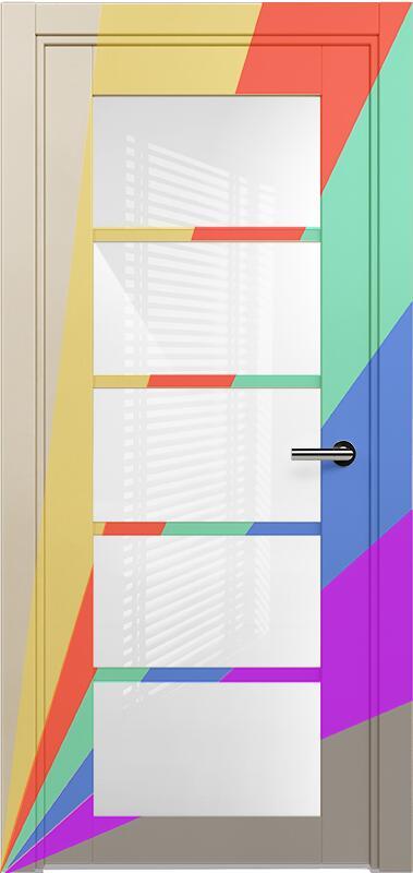 Коллекция Optima 122 Эмаль. Стандарт - RAL 7004,7015,1015,1019,9003.  Нестандарт - любой цвет по RAL. + Триплекс белый