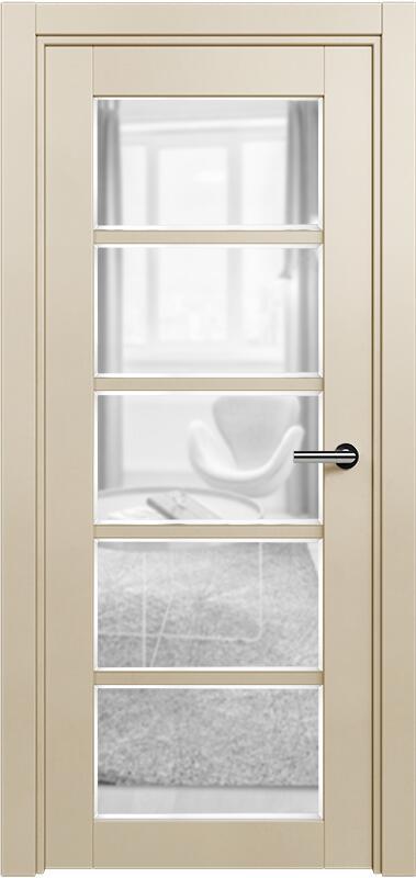 Коллекция Optima 122 Слоновая кость + сатинато прозрачное фацет