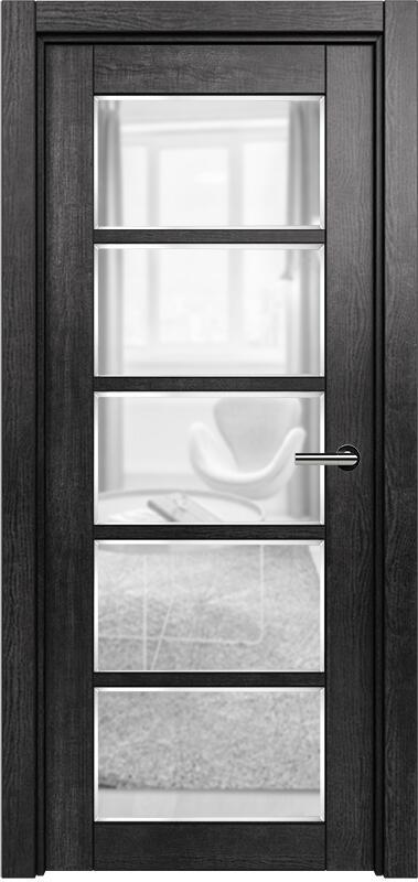 Коллекция Optima 122 Венге пепельный + сатинато прозрачное фацет