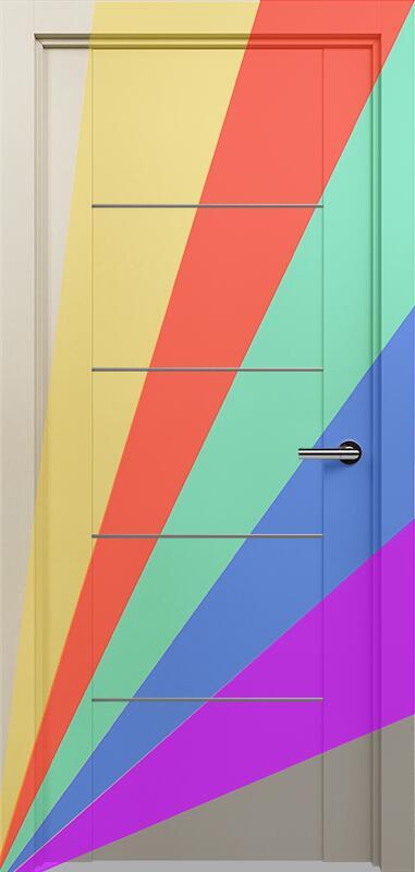 Коллекция Versia 211 Эмаль. Стандарт - RAL 7004,7015,1015,1019,9003.  Нестандарт - любой цвет по RAL.