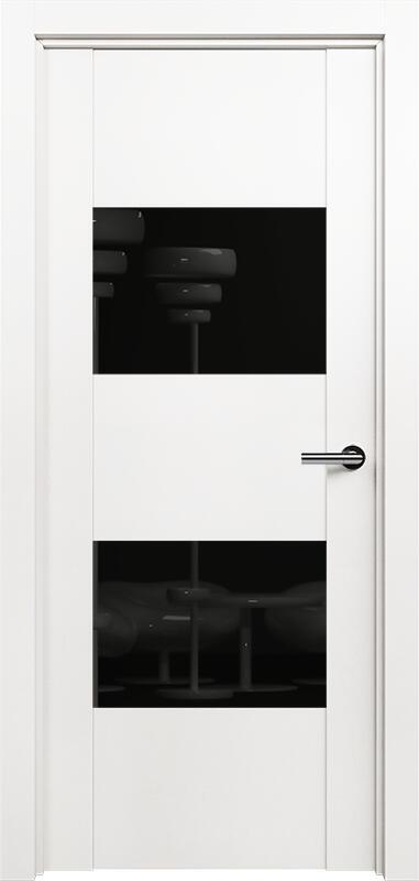 Коллекция Versia 221 Белый   лёд + Лакобель черное