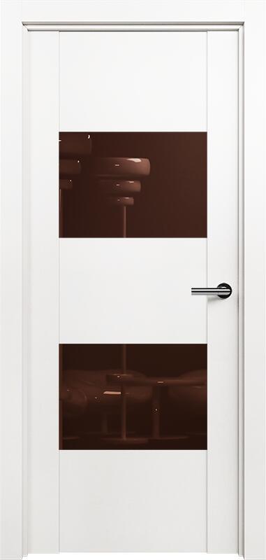 Коллекция Versia 221 Белый   лёд + Лакобель коричневое