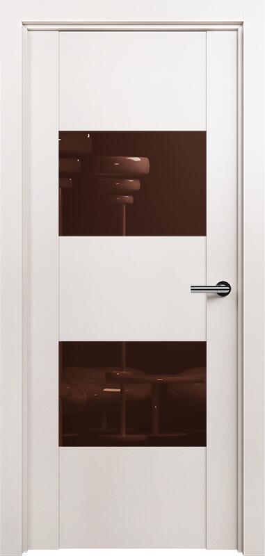 Коллекция Versia 221 Белый жемчуг + Лакобель коричневое