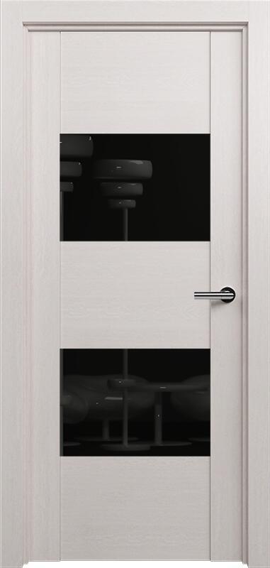 Коллекция Versia 221 Дуб белый + Лакобель черное