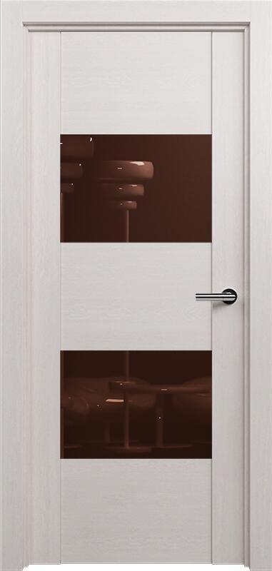 Коллекция Versia 221 Дуб белый + Лакобель коричневое